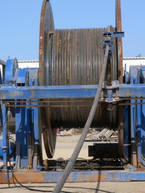 Coiled tubing spooling operation in Oman