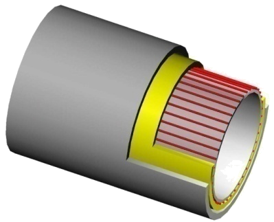 Heat traced insulated tubing concept
