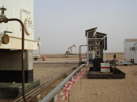 Surface heating equipment for TOR, Oman